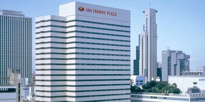 ANAクラウンプラザホテル大阪の外観(画像引用元:ANAクラウンプラザホテル大阪)