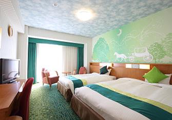 ホテル京阪ユニバーサル・シティの館内のフォレストルーム(画像引用元:ホテル京阪ユニバーサル・シティ)