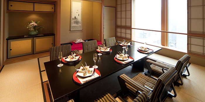 ホテルグランヴィア大阪の和食レストラン(画像引用元:楽天トラベル)