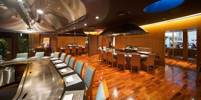ホテルグランヴィア大阪の鉄板焼きレストラン(画像引用元:楽天トラベル)