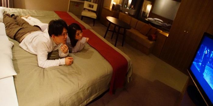 京阪ユニバーサルの無料映画(画像引用元:ホテル京阪ユニバーサルタワー)