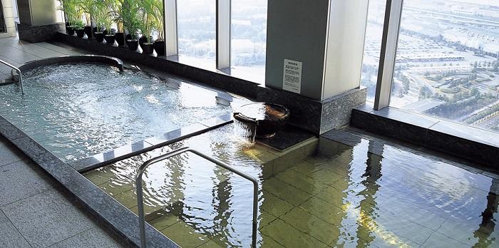 ホテル京阪 ユニバーサル・タワーの天然温泉(画像引用元:ホテル京阪 ユニバーサル・タワー)