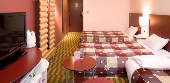 ホテル近鉄ユニバーサル・シティの客室(画像引用元:ホテル近鉄ユニバーサル・シティ)