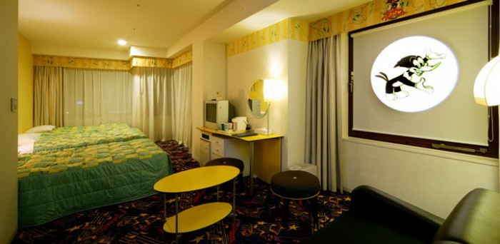 ホテル近鉄ユニバーサル・シティのウッディウッドペッカールーム(画像引用元:ホテル近鉄ユニバーサル・シティ)