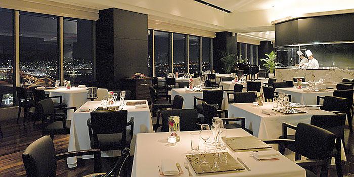 神戸ベイシェラトン&タワーズのフレンチレストラン(画像引用元:楽天トラベル)