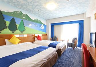 ホテル京阪ユニバーサル・シティの館内のレイクルーム(画像引用元:ホテル京阪ユニバーサル・シティ)