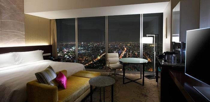 大阪マリオット都ホテルのクラブルーム(画像引用:大阪マリオット都ホテル)