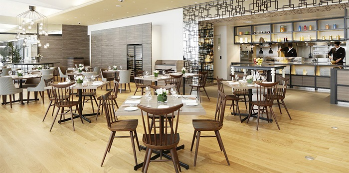 コートヤード・バイ・マリオット新大阪ステーションのレストラン(画像引用元:楽天トラベル)