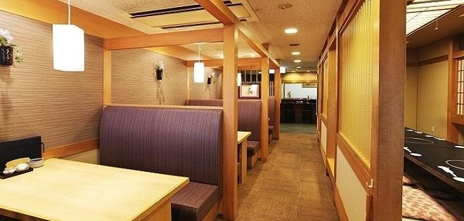 ニュー松ヶ枝のレストラン(画像引用元:楽天トラベル)