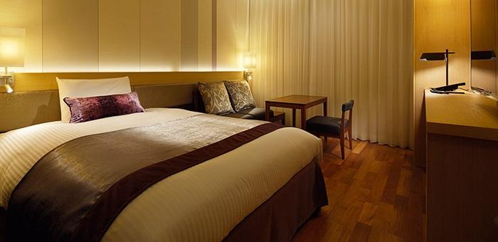 三井ガーデンホテル大阪プレミアムのコンフォートルーム(画像引用元:楽天トラベル)
