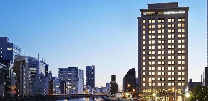 三井ガーデンホテル大阪プレミアムの外観(画像引用元:楽天トラベル)