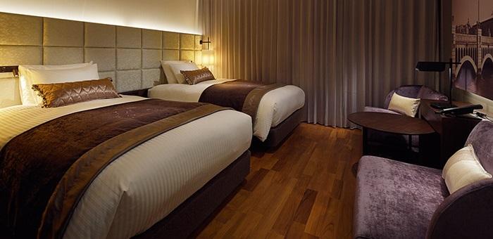 三井ガーデンホテル大阪プレミアムのレディースルーム(画像引用元:楽天トラベル)