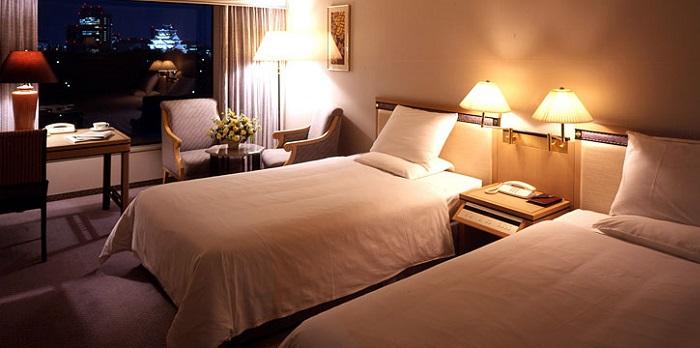 ホテルニューオータニ大阪のツインルーム(画像引用元:楽天トラベル)