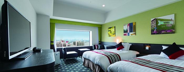 ザパークフロントホテルのニューヨークルーム(画像引用元:ザパークフロントホテル)