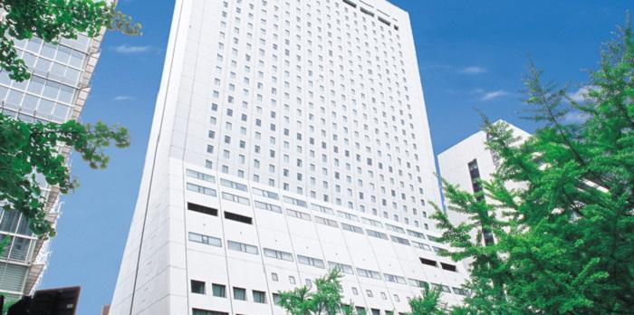 ホテル日航大阪の外観(画像引用:ホテル日航大阪)