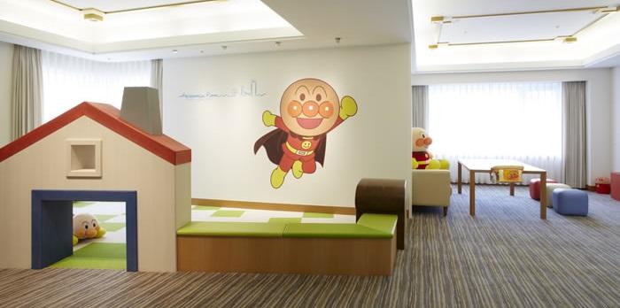 ホテルオークラ神戸のアンパンマンルーム(画像引用元:楽天トラベル)