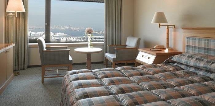 ホテルオークラ神戸のスタンダードプラスフロア(画像引用元:楽天トラベル)