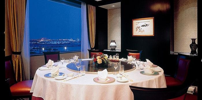 ホテルオークラ神戸の中華レストラン(画像引用元:楽天トラベル)