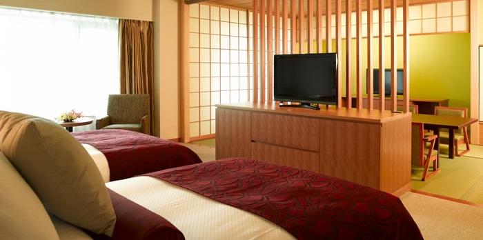 ホテルオークラ神戸の和洋室(画像引用元:楽天トラベル)