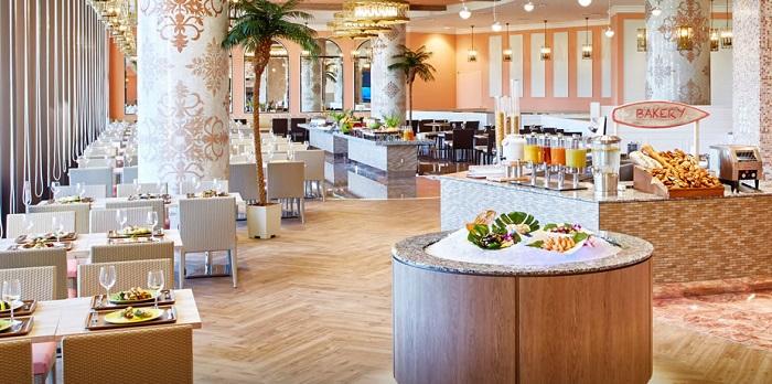 ザパークフロントホテルのハワイアンレストラン(画像引用元:ザパークフロントホテル)