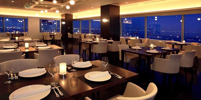 ホテルプラザ神戸のレストラン(画像引用元:楽天トラベル)
