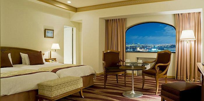 ホテルプラザ神戸のスタンダード客室(画像引用元:楽天トラベル)