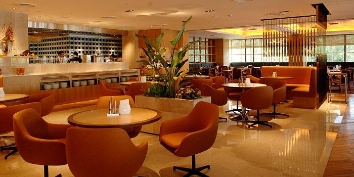 神戸ポートピアのカフェレストラン(画像引用元:楽天トラベル)