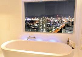 神戸ポートピアのビューバスルーム(画像引用元:楽天トラベル)
