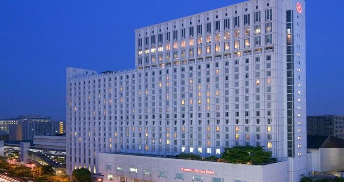 シェラトン都ホテル大阪の外観(画像引用元:シェラトン都ホテル大阪)