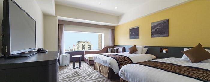 ザパークフロントホテルのサザンホスピタルルーム(画像引用元:ザパークフロントホテル)