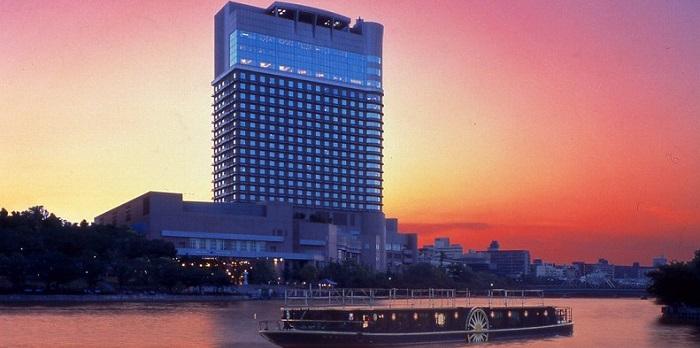 ホテル帝国ホテル大阪の外観(画像引用:帝国ホテル大阪)