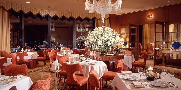 帝国ホテル大阪のフレンチレストラン(画像引用:帝国ホテル大阪)