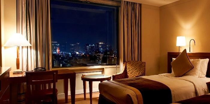 帝国ホテル大阪のレギュラールーム(画像引用:帝国ホテル大阪)